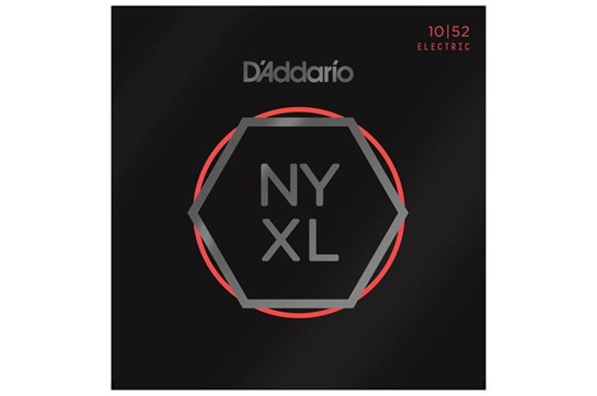D'Addario NYXL1052 Nickel Electric Guitar Strings, Light Top Heavy Bottom, 10-52