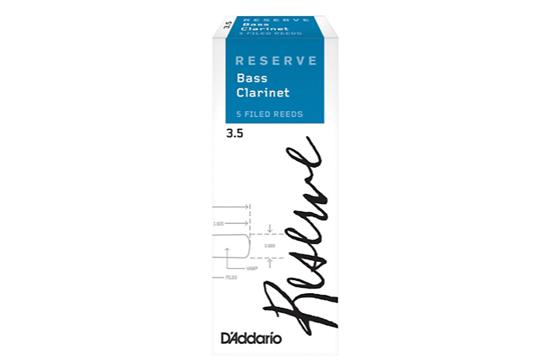 D'Addario Reserve Bass Clarinet Reeds (3.5, 5 Pack)