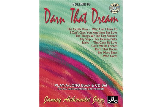 Jamey Aebersold Jazz, Volume 89: Darn That Dream