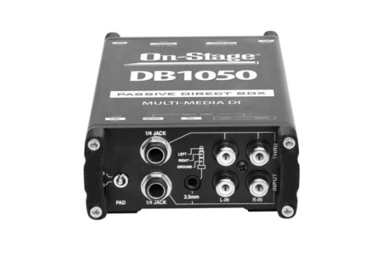 On-Stage Passive Multimedia Direct Box