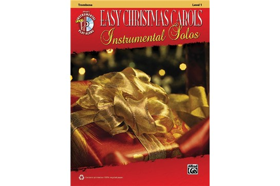 Easy Christmas Carols Instrumental Solos (Trombone)