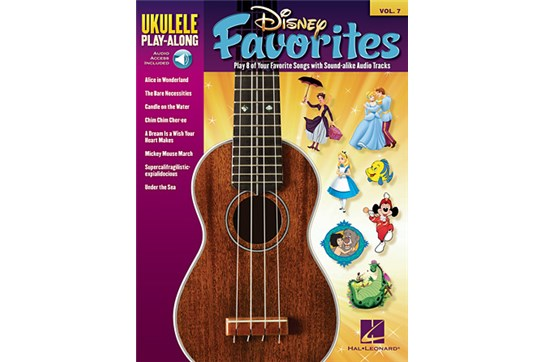 Disney Favorites Ukulele Play-Along Volume 7