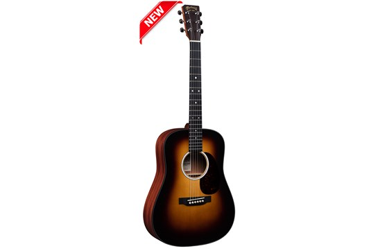 Martin DJR10E Junior Acoustic-Electric Guitar (Burst)