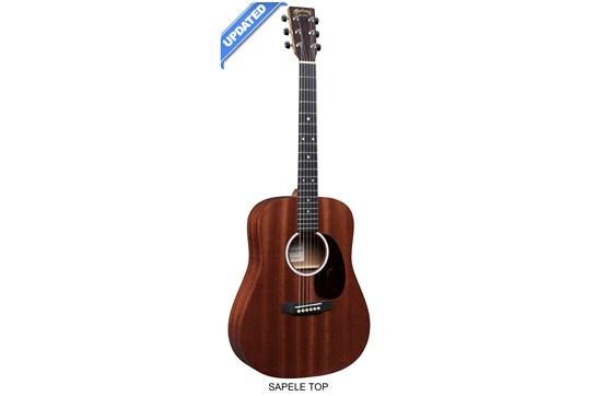 Martin DJR10E Junior Acoustic-Electric Guitar (Sapele)