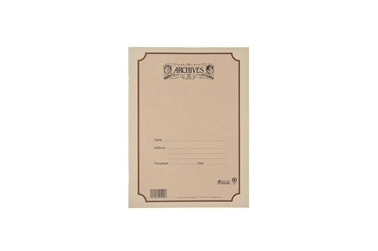 Archives Manuscript Paper - Book (12 Stave, 96 Pages)