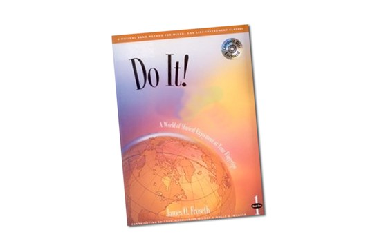 Do it! Play Percussion Band Method Book 1 w/CD