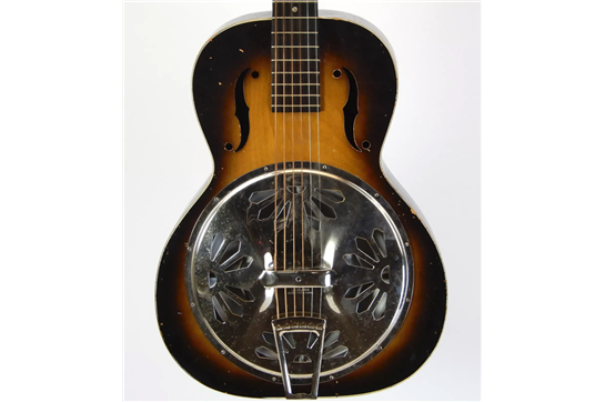Used Dobro M-27 w/ OHSC 1930's (Sunburst)