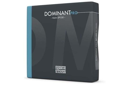 Thomastik DP100 Dominant Pro String Set - 4/4 Violin, Steel, ball end