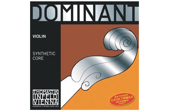 Thomastik Dominant 4/4 Violin String Set, 135B Ball E