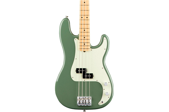Fender American Professional Precision Bass - Maple (Antique Olive)