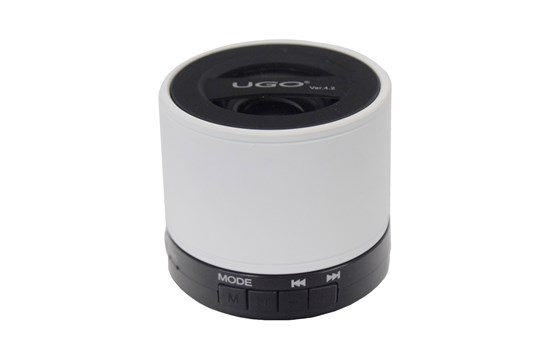 UGO Bluetooth Wireless Mini Speaker (White)