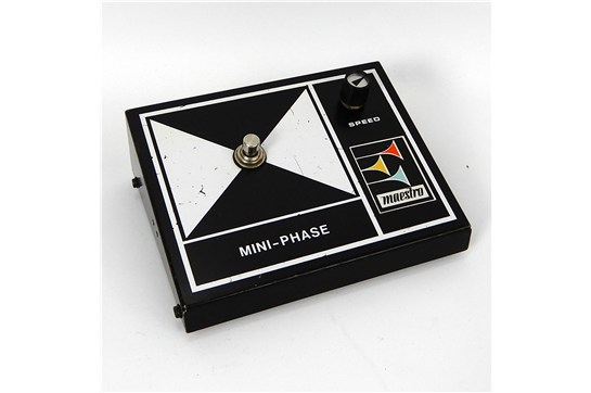 Maestro MPS-2 Mini-Phase Guitar Effect Pedal 1970's Black