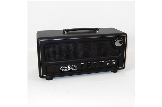 Port City Pearl 100w Amplifier Head Black