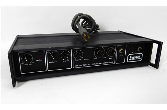 Systech 4000a Voltage Controlled Flanger Black