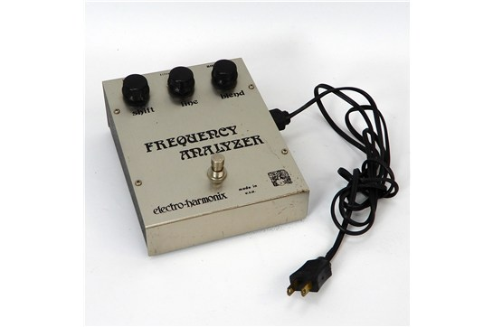 Electro-Harmonix Frequency Analyzer 1970's Aluminum or Chrome
