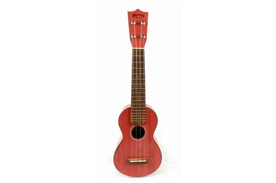 Used Martin 0X Uke Bamboo - Red