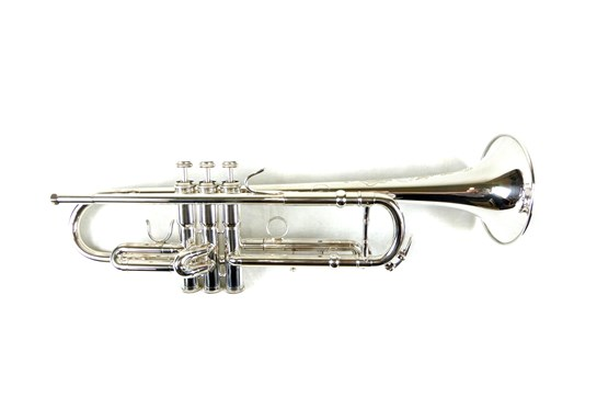 Used Cannonball 42S Artist Series Bb Trumpet (Silver Plated)