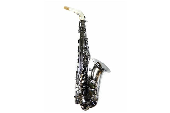 Used Cannonball A5 Stone Series Alto Saxophone (Raven Iced Black)