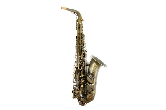 Used Cannonball A5 Stone Series Alto Saxophone (The Brute)