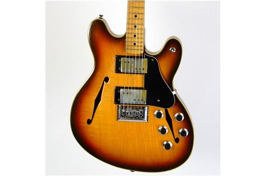 Fender Starcaster w/ OHSC & Case Candy 1975 Sunburst
