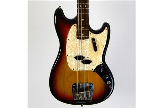 Fender Mustang Bass 100% w/ OHSC 1971 Sunburst