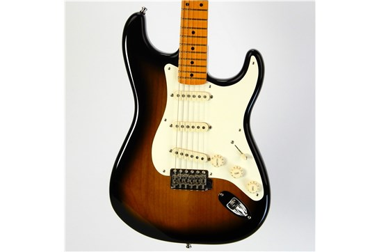 Used Fender Eric Johnson Stratocaster First Year w/ OHSC & Case Candy (Sunburst)