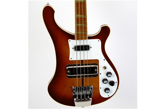 Used Rickenbacker 4001 Bass Guitar w/ OHSC 1978 (Autumnglo)