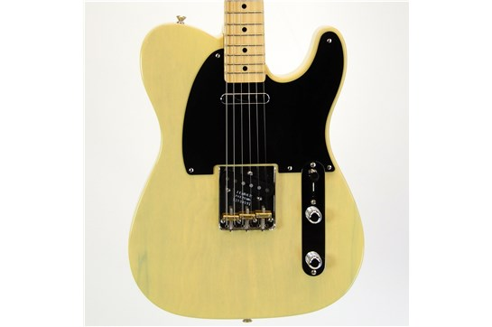 Used Fender Ltd American Vintage '52 Tele w/OHSC & All Case Candy 2015 Blackguard (Blonde Korina)