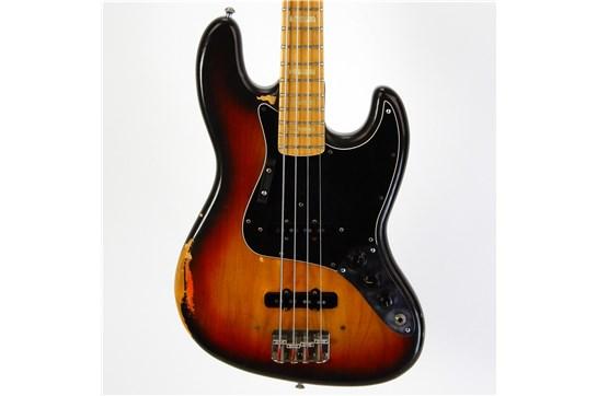 Used Fender Jazz Bass w/OHSC 1976 (Sunburst)