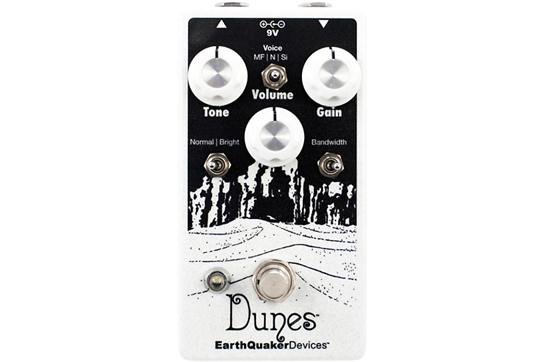 EarthQuaker Devices Dunes Mini Mega Ultimate Overdrive V2 Guitar Effects Pedal
