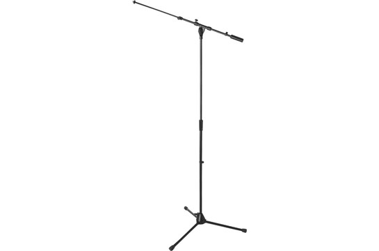 On-Stage Heavy Duty Euro Tele Boom Mic Stand