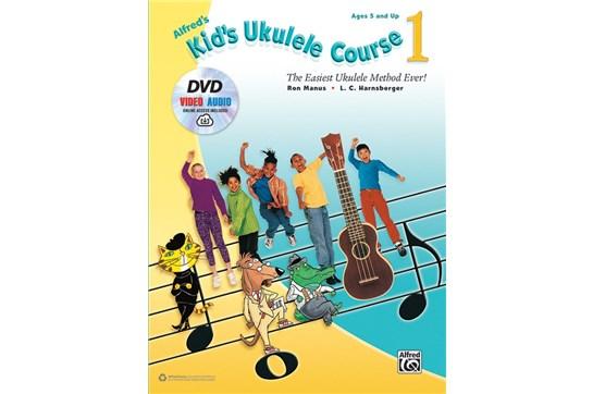 Alfreds Kids Ukulele Course 1 w/DVD