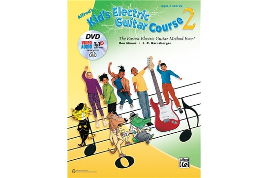 Kids Electric Guitar Course 2 w/DVD