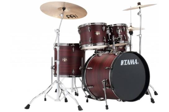 Tama Imperialstar IP52NBC Drum Set with Walnut Wrap