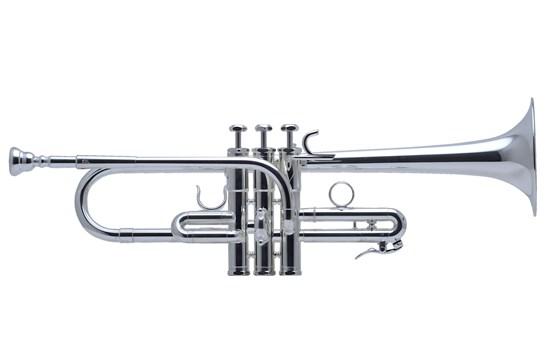 Schilke E3L Eb Trumpet - Silver w/D bell