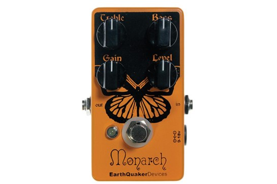 EarthQuaker Devices Monarch FET Overdrive Pedal