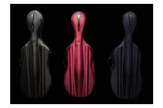 Eastman Cello 4/4 Woven Red