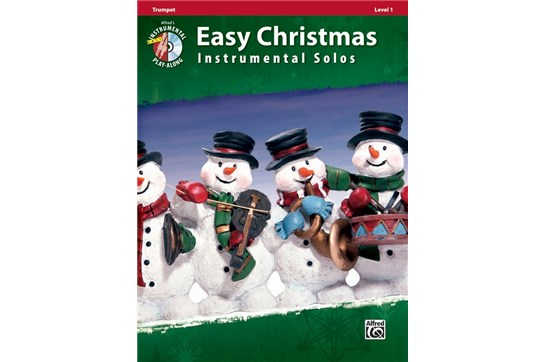 Easy Christmas Instrumental Solos, Level 1 Arr. various, ed. Bill Galliford Trumpet Book & CD