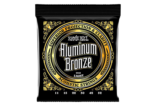 Ernie Ball 2568 Light Aluminum Bronze Acoustic Guitar Strings