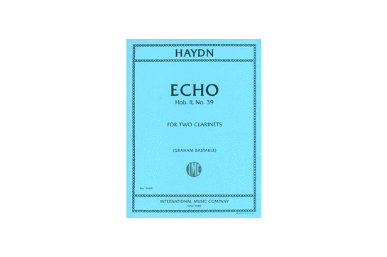 Echo for Two Clarinets