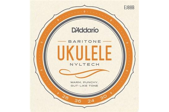 D'Addario EJ87C Titanium Ukulele Strings, Baritone