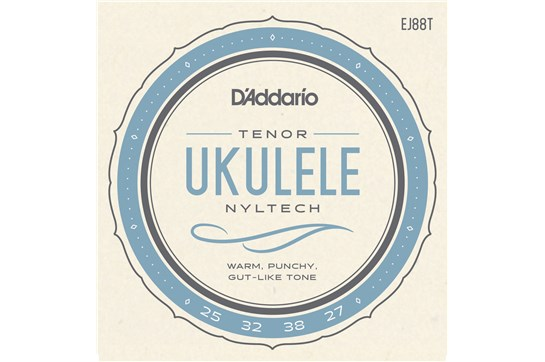 D'Addario EJ88T Tenor Ukulele Strings