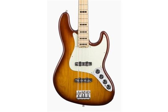 Fender American Elite Jazz Bass (Tobacco Sunburst) - Maple Neck