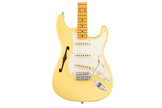 Fender Eric Johnson Thinline Stratocaster (Vintage White)