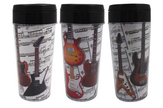 Electric Guitars Travel Tumbler