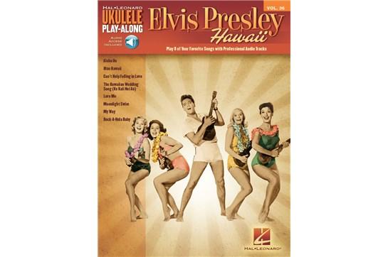 Elvis Presley Ukulele Play-Along Volume 36