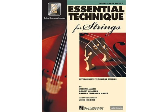 Essential Technique for Strings - Double Bass Book 3