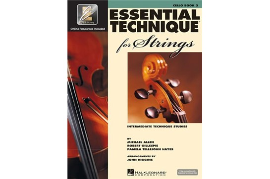 Essential Technique for Strings - Cello Book 3