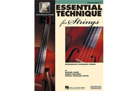 Essential Technique for Strings - Violin Book 3