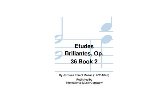 Etudes Brillantes Op. 36 Book 2 Viola
